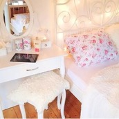 home accessory,bedding,floral pillow,white