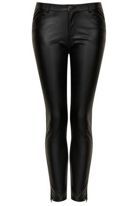 **Riya Faux Leather Trousers by Goldie - New In This Week  - New In  - Topshop