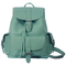 Romwe | magnetic button multi-pockets mint green backbag, the latest street fashion