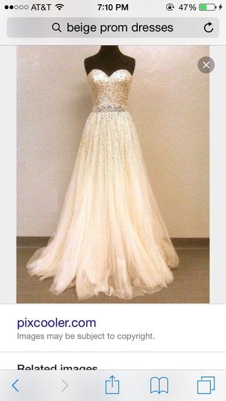 dress clothes beige dress beige prom prom dress