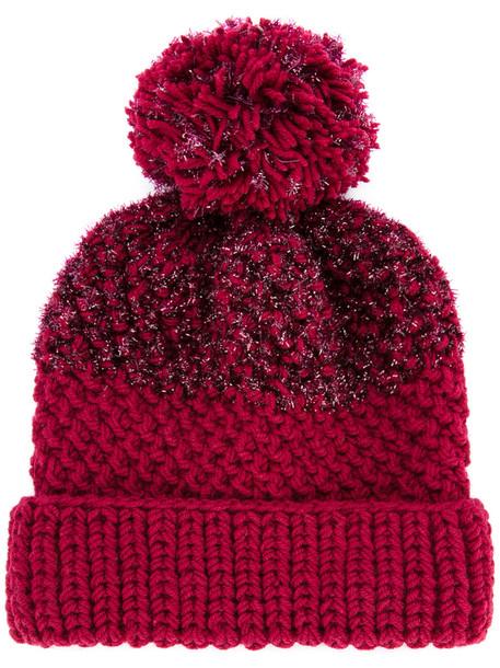 beanie red hat