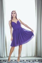 dress,purple,cocktail,formal,bridesmaid,chiffon,spring,summer,preppy,entourage,bridal