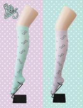 socks,pastel goth,knee high socks,stockings,lolita,pastel grunge,kawaii,kawaii accessory