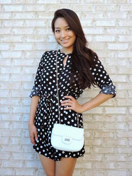 sensible stylista blogger romper shoes bag