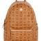 Medium stark faux leather backpack