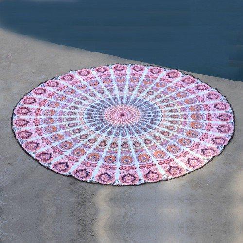 Round Mandala Picnic Beach Sheet Tapestries