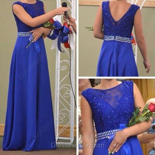 dress prom prom dress blue blue dress royal royal blue dress royal blue belt crystal cute cute dress sexy sexy dress lovely love pretty gorgeous beautiful fabulous summer special occasion dress fashion fashionista fashion vibe vintage sparkle shiny sweet cool wow amazing trendy girly girl women long long dress maxi maxi dress long prom dress lace lace dress dressofgirl bridesmaid