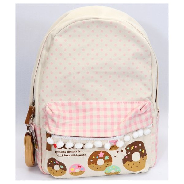 Japan Donuts Kawaii From Backpack Polyvore Cute Bpqfx