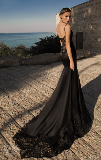 dress amazing black elegant backless dress lace dress gorgeous stunning dress