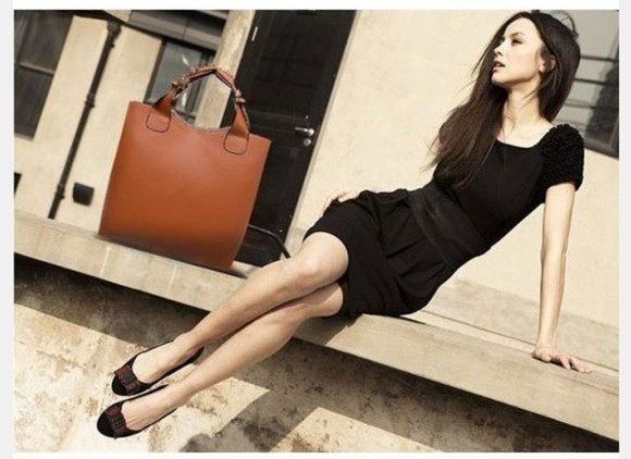 bag leather bag dress summer dress cute dress black prom dress party little black dress short prom dress short party dresses casual dress shoulder detail summer dresses brunette pale beautiful