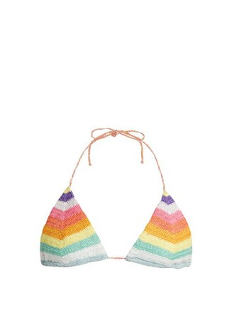 bikini bikini top triangle bikini triangle crochet swimwear