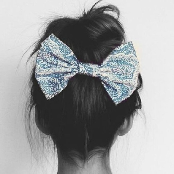 hair bow bows hair accessories tie fabric hair pin hair clip