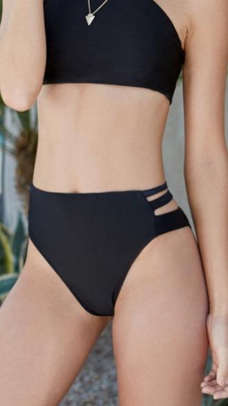 swimwear bikini bikini bottoms high waisted bikini