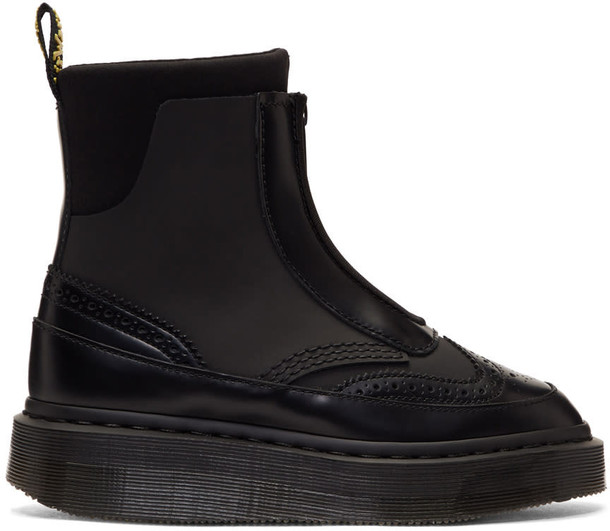 Dr. Martens zip black shoes