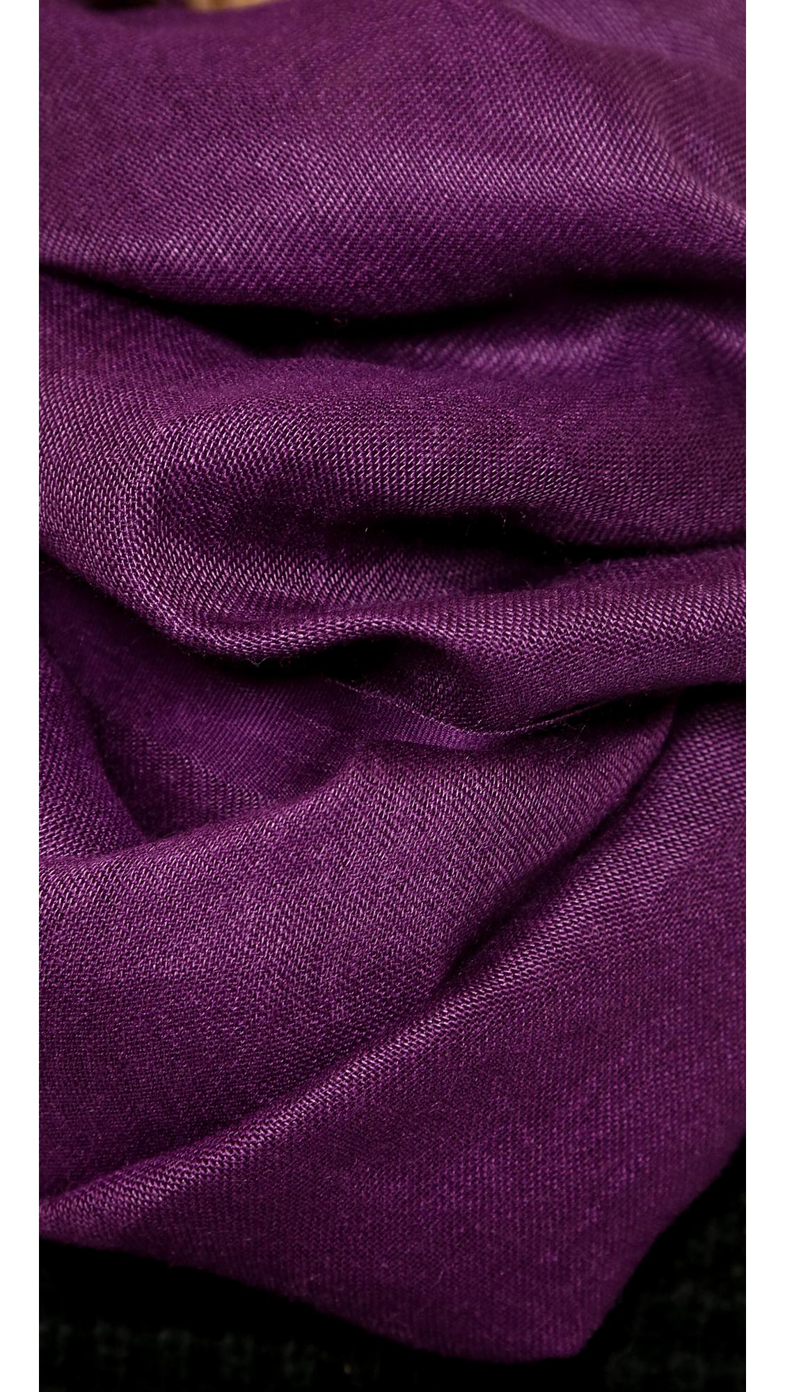 Love quotes tassel linen scarf