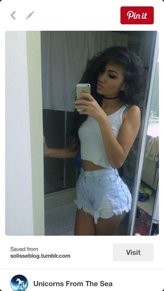 top shorts white floral crop tops white top white crop tops