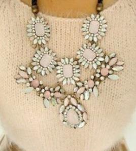 Rhinestone vintage necklace