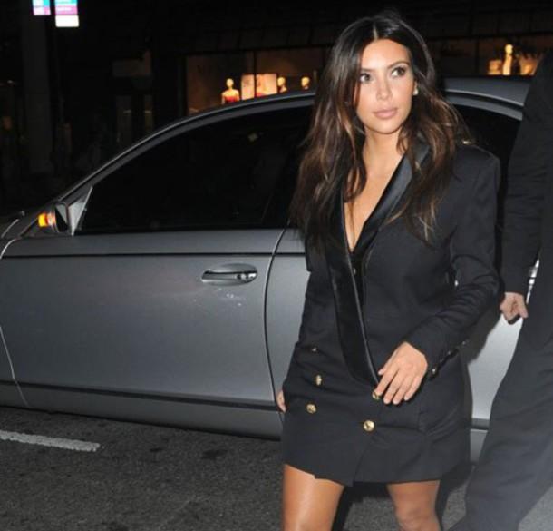 Kim kardashian short dress styles