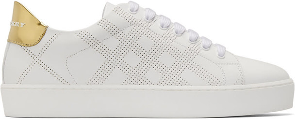 Burberry sneakers white shoes