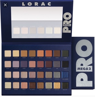 make-up lorac mega pro palette 2