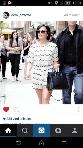 jumpsuit demi lovato style classy bag sunglasses