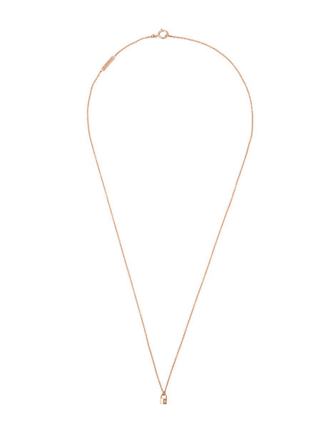 rose gold rose women necklace gold grey metallic jewels