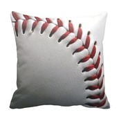 home accessory,imgeee,baseball,home decor,bedroom,teen bedrooms,pillow,zazzle,team sport,high school,college,mlb,little league,sportsfan,sports fan,cool gifts idea,baseball pillow