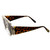 Womens Exquisite Fashion Round Cut Out Trim Geometric Retro Sunglasses
