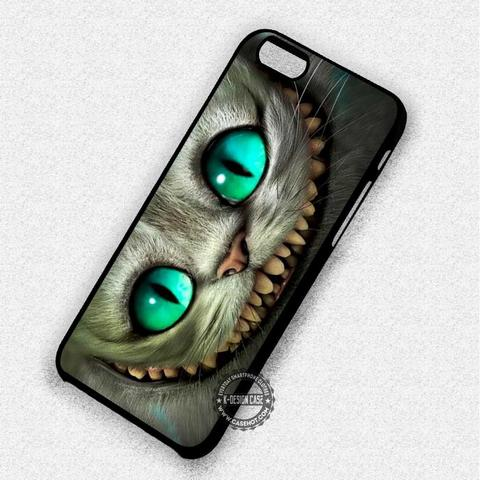 Green Eyes Cheshire Cat - iPhone 7 6 5 SE Cases & Covers