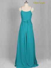 turquoise prom dress,turquoise prom dresses,turquoise bridesmaid dresses,turquoise bridesmaid dress,turquoise dress,spaghetti straps dress,dress