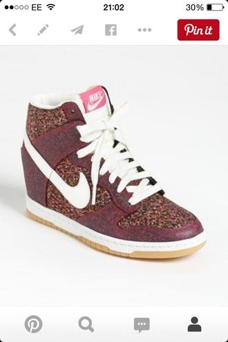 shoes nike shoes nike high tops streetwear style urban