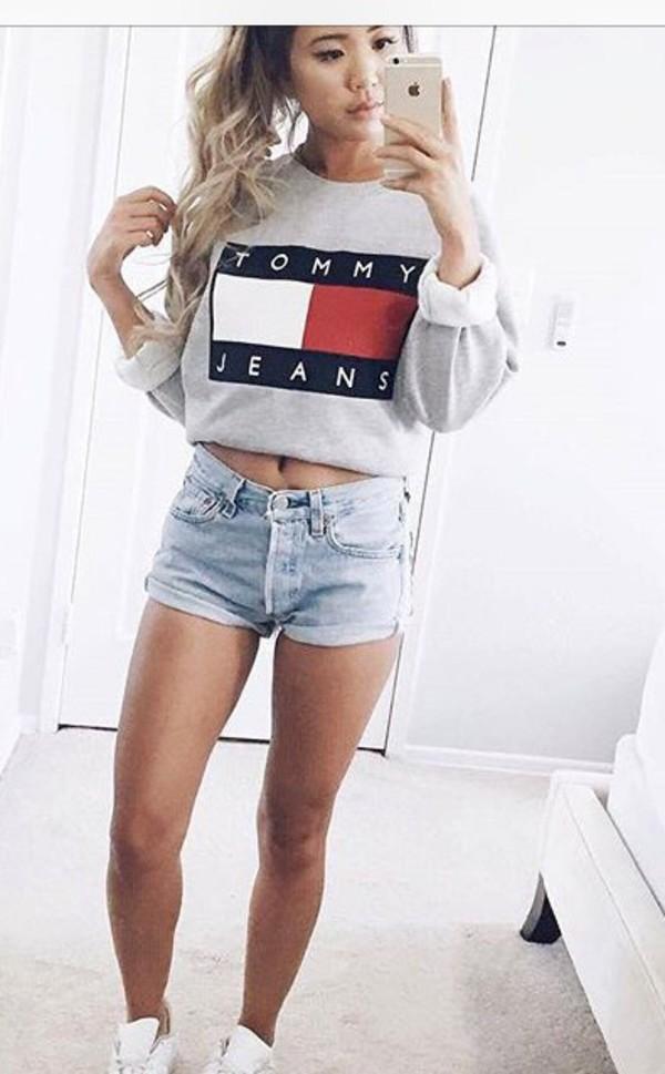 shirt tommy hilfiger sweater