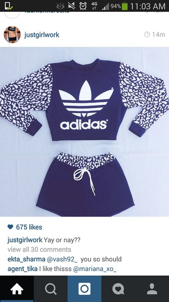 jumpsuit adidas sweater adidas shorts adidas wings sportswear sports jacket adidas tracksuit bottom adidas shirt adidas originals adidas tracksuit tracksuit bag sports shorts adidas long sleeves shorts design cute swag top swag dope dope shirt streetstyle street fashion t-shirt adidas purple two piece long sleeve shirt and skirt sweater top jumper adidas crop top adidas jumper