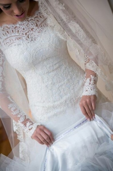 dress vintage wedding dress lace wedding dress wedding dress 2014 wedding gowns