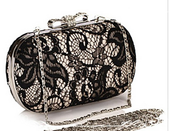 lace wedding clothes bag lace bag bows bow bag clutch clutch purse