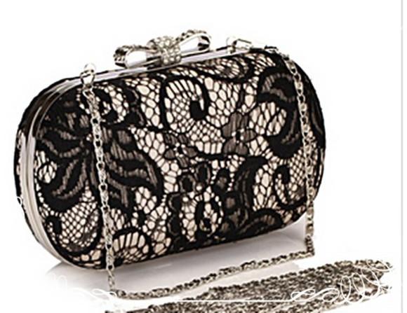 bag clutch lace bag wedding clothes lace bows bow bag clutch purse