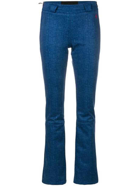 Perfect Moment women spandex blue pants
