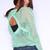 Open Back Sweater - Mint | Obsezz
