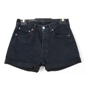 vintage levi's shorts black high waisted,black shorts,shorts
