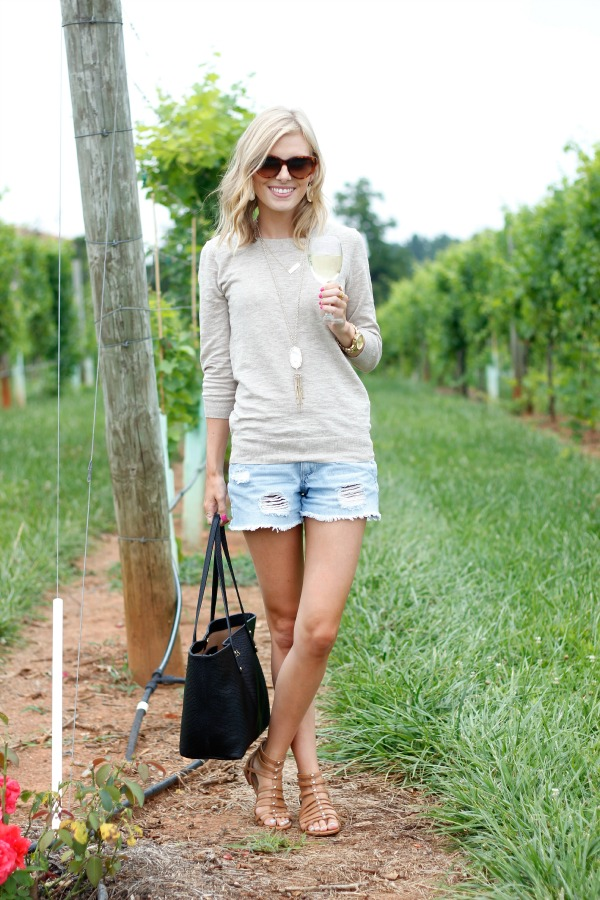 Life with Emily | a life   style blog : Weekend Wear | Winery Tour