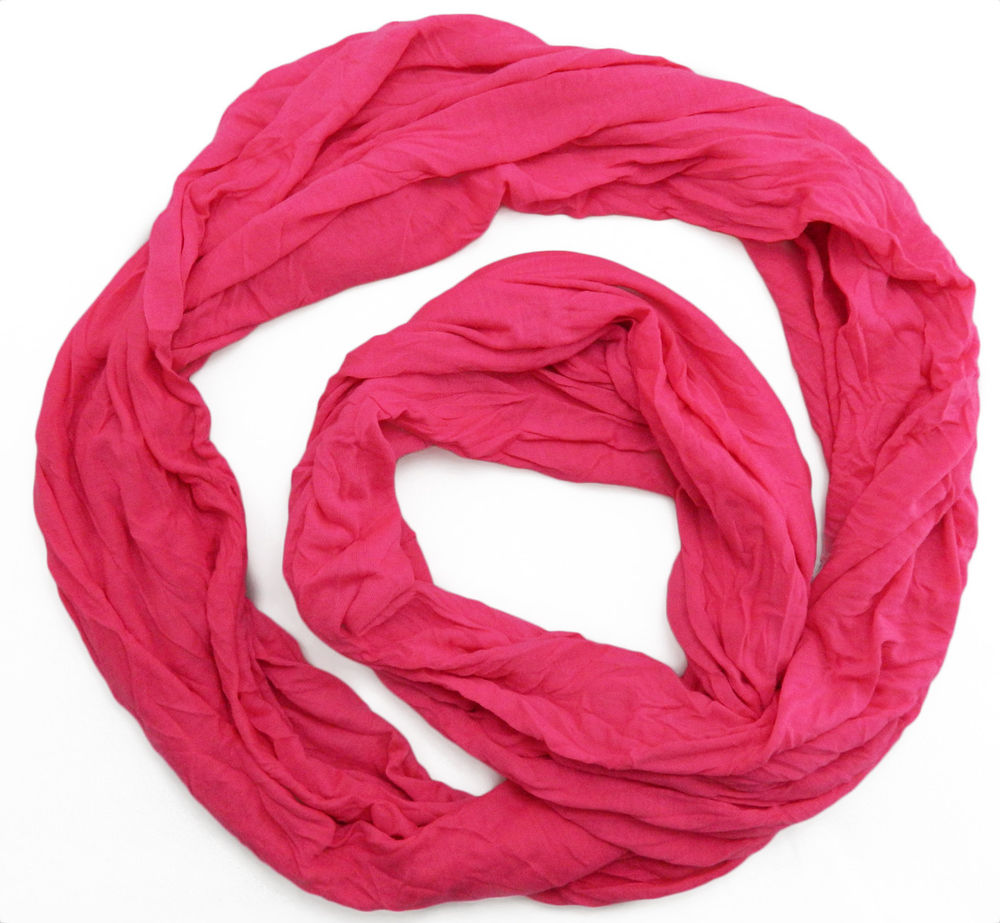 Hot Pink Infinity Scarf | eBay