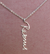 jewels,signature style name,name necklace,memorial necklace,handmade,made to order,handwriting signature necklace,handcrafted jewelry,personalized necklace,signature,signature necklace,signature pendant,vertical signature necklace,sterling silver 925,jewelry,jewelry store online,birthday gift,mom gift,mom necklace