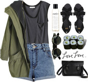 shirt,khaki,shoes,cute,short,t-shirt,black,veste kaki,manteau,manteau kaki,coat