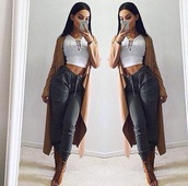 shirt,top,crop tops,white,hoodie,hoodie top,sporty,pants,jeans,jacket,blouse,heels,boots,shoes,long cardigan,cardigan,cargo pants,high heels,high waisted jeans,joggers,grey pants