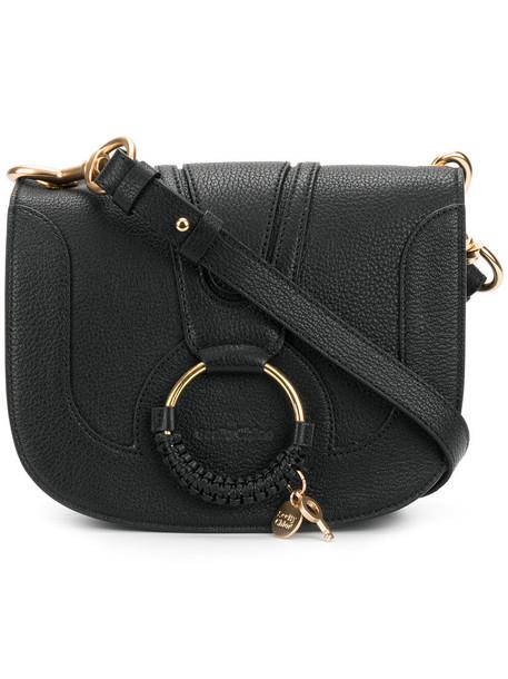 See by Chloe women bag shoulder bag leather cotton black
