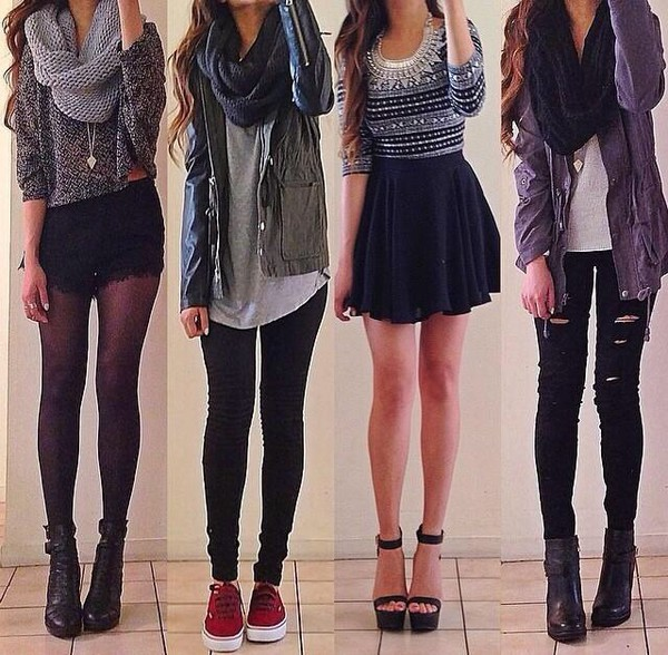 skirt jacket sweater jeans scarf t-shirt shoes shirt shorts autumn/winter fall outfits girly top fall outfits cute outfits socks fashion fall outfits coat cardigan jewels pants long Navy jacket pattern