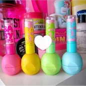 make-up,baby lips and eos
