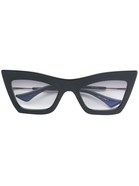 Dita Eyewear - Erasur pointed sunglasses - women - Acetate/Metal (Other) - 53, Black, Acetate/Metal (Other)