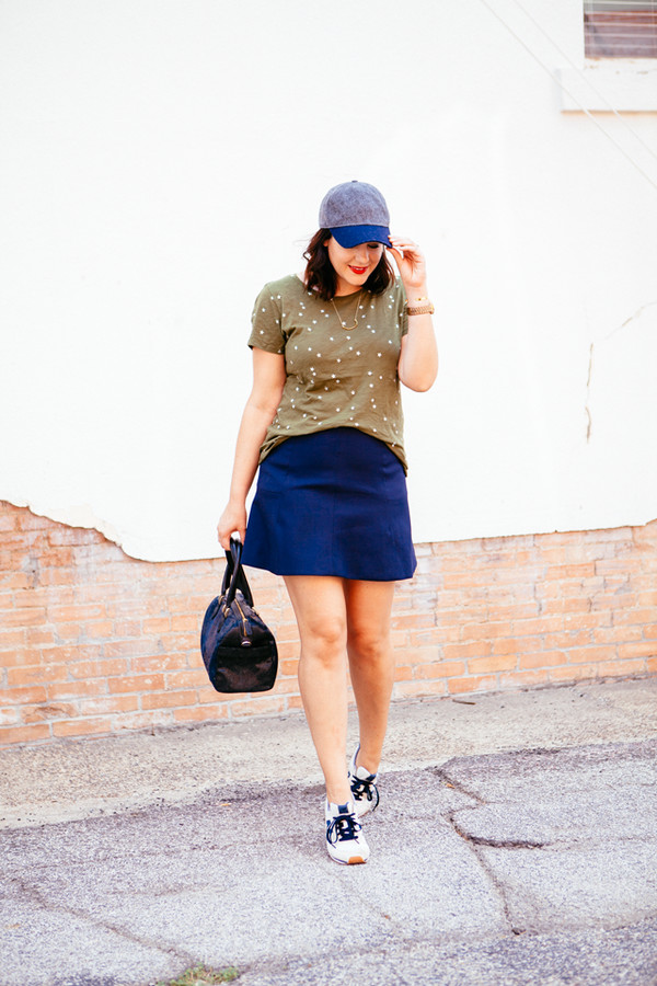 kendi everyday blogger t-shirt skirt shoes bag jewels
