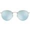 Rb3447 round metal flash sunglasses